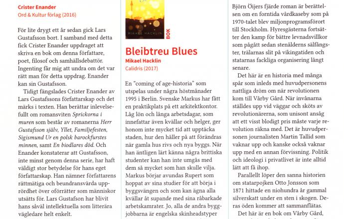 bleibtreu blues recension